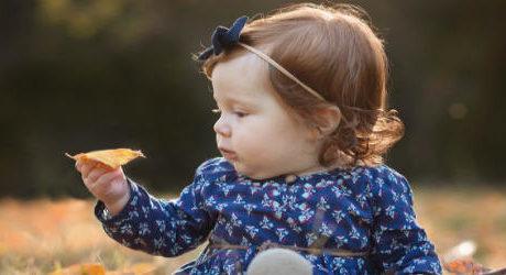 6ヶ月 秋の赤ちゃん