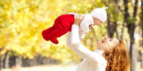 秋の赤ちゃん