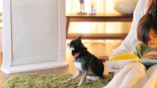 赤ちゃんと暖房器具