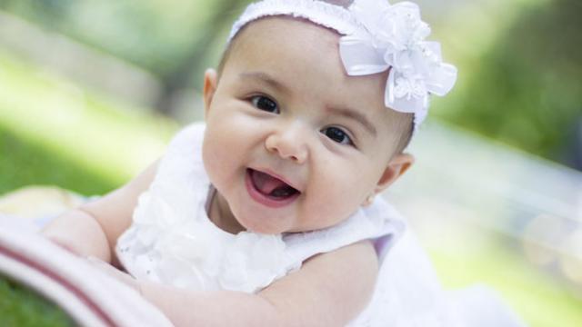 生後3か月の赤ちゃん