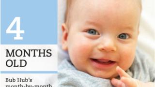 4ヶ月の赤ちゃん