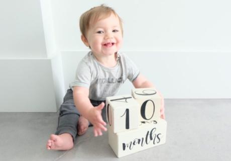 生後10ヶ月の赤ちゃん