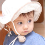 赤ちゃんの帽子