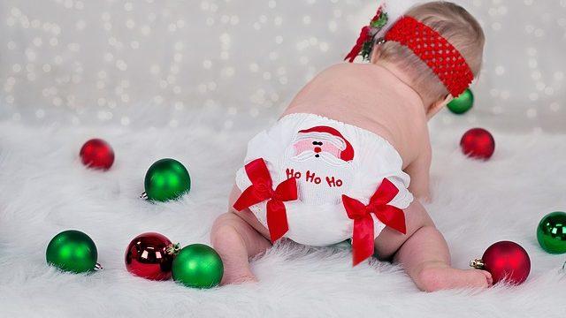 赤ちゃん クリスマス