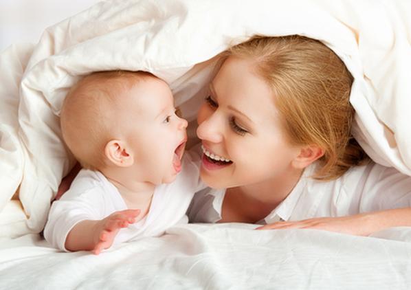 5ヶ月の赤ちゃんとママ